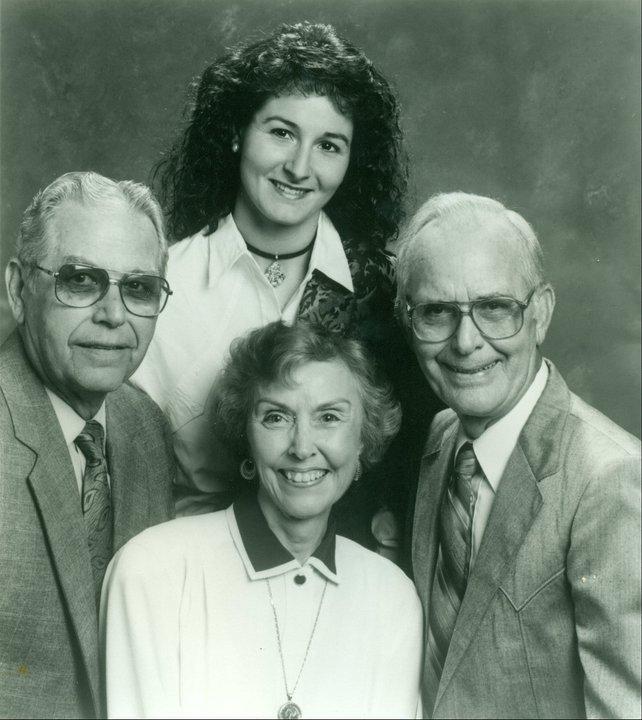 1993 - Eddie Carter, Shaye Smith, Ruth Ellen Carter Yates, Roy Carter