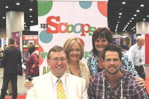 Scoops Staff with Adam Crabb