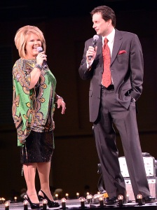 Friday Night Hosts Susan Whisnant, Michael Booth