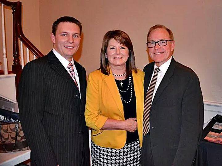 Troy Burns Family    From Left:  Roland Kesterson, Tammy Burns, Troy Burns