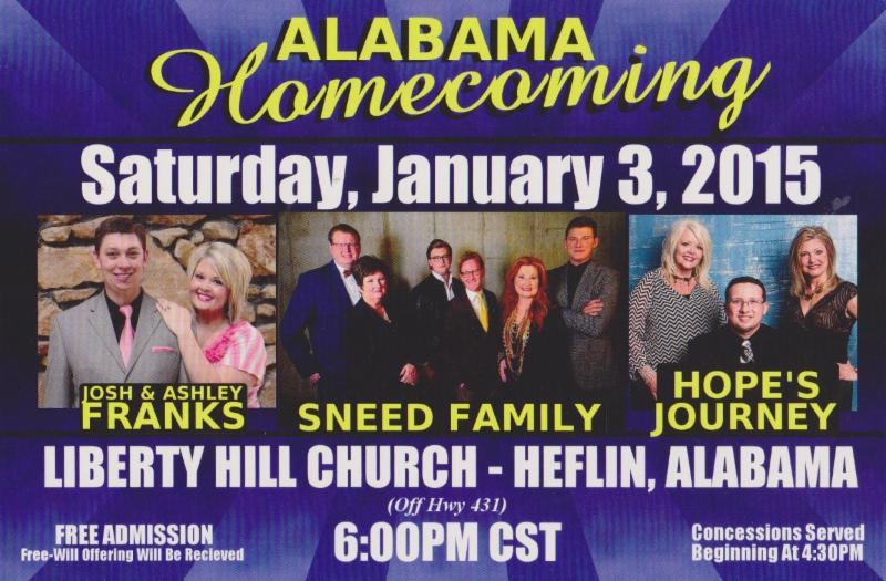 Alabama Homecoming