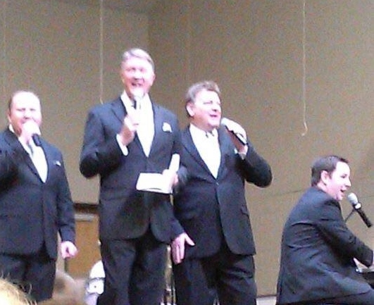 Kingdom Heirs with Andy Stringfield at baritone