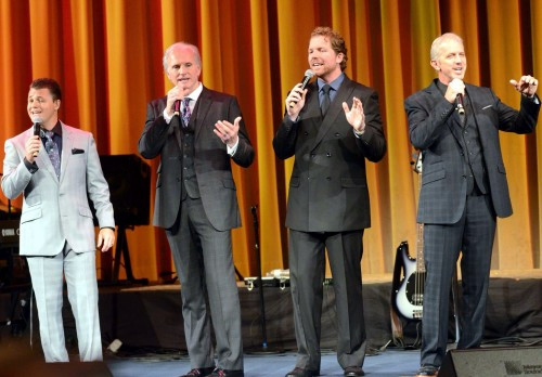 Triumphant Quartet at Spring Break courtesy of Craig Harris