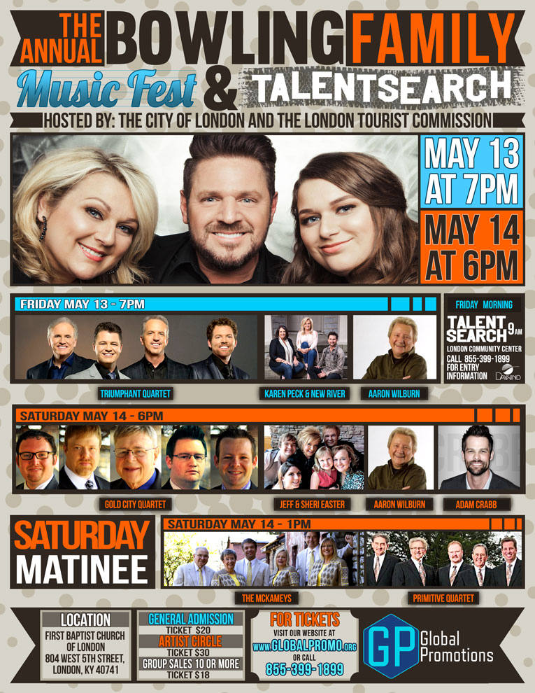 The Bowling Family Announces Annual Music Fest & Talent Search