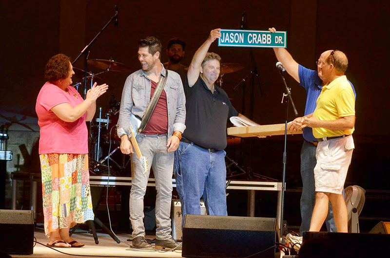 JASON CRABB HONORED WITH STREET IN HIS HOMETOWN
