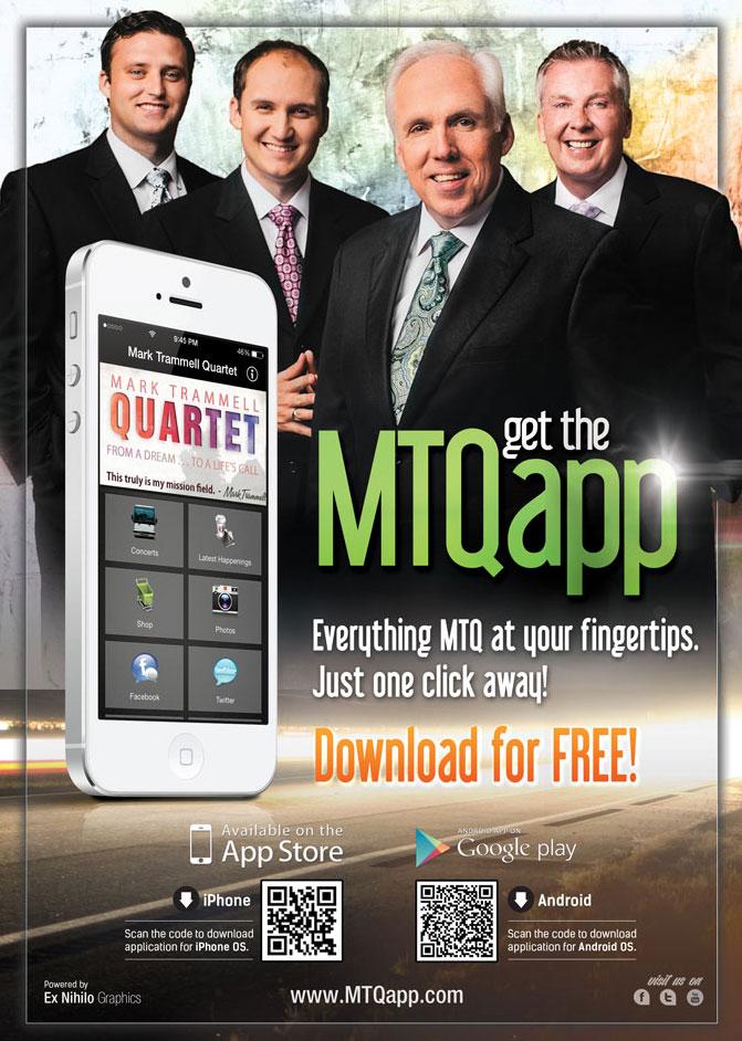 Mark Trammell Quartet Offers FREE Mobile App