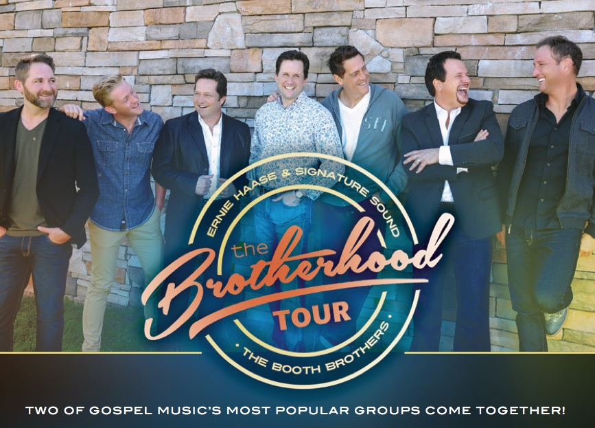 IMC CONCERTS ANNOUNCES NEW BROTHERHOOD TOUR DATES FEATURING ERNIE HAASE & SIGNATURE SOUND AND THE BOOTH BROTHERS