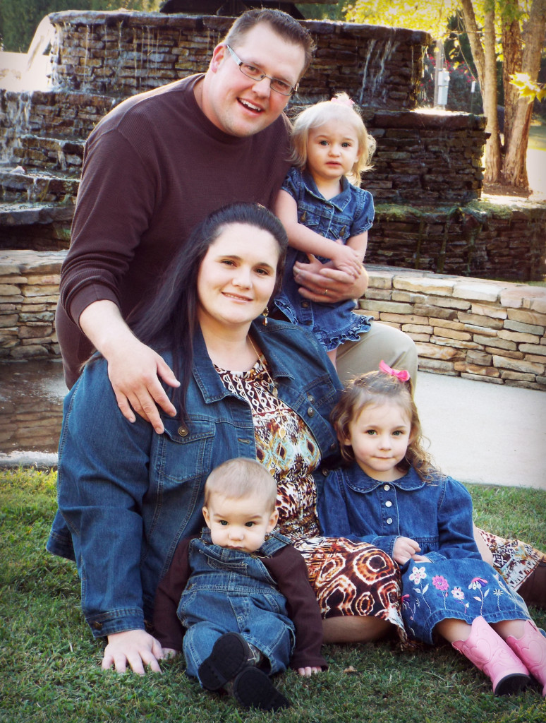 Amber Barkley and family