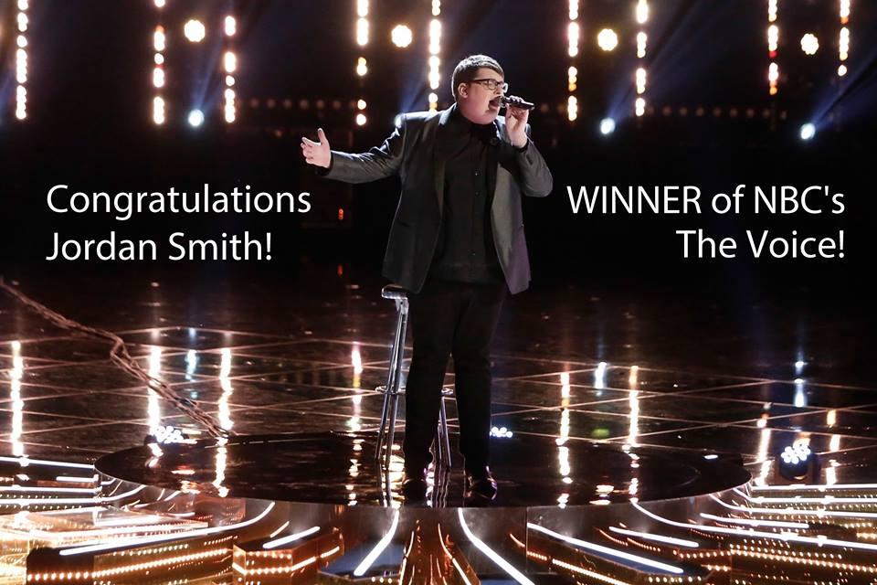 Jordan Smith Winner Of The Voice