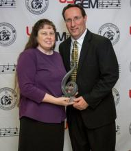 Michael & Ann Gardner received the USAGEM Diamond Award. Michael is a past president and performing member with The Gardners.