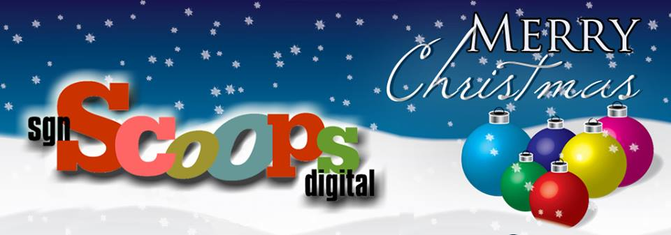 Scoops Christmas Banner