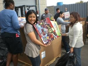 toys for Tots d 2013. Christmas
