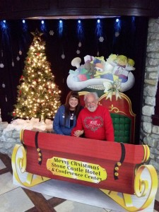 Billy and Donna Hale at the Branson Country Gospel Music Association Christmas Banquet