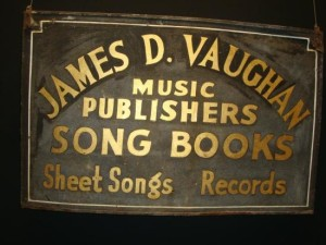 James D Vaughn sign