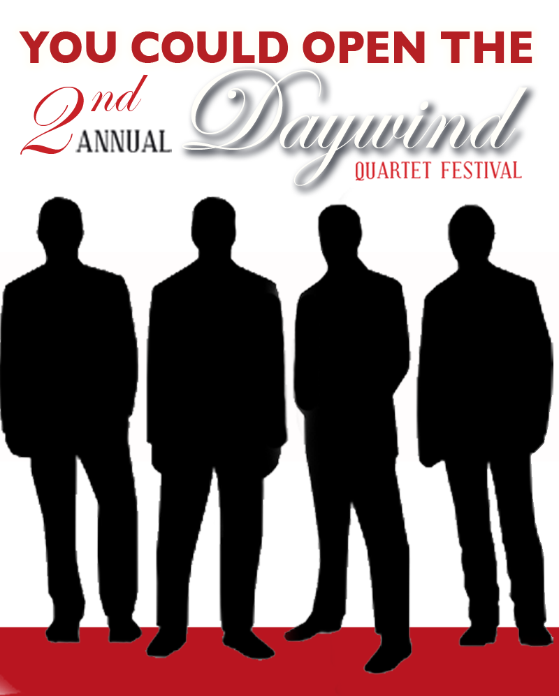 Daywind Records Announces Talent Contest In Anticipation of the Daywind Quartet Festival