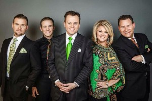 Aaron Hise with the Whisnants