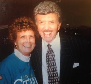 Nancy Corollo and Jake Hess
