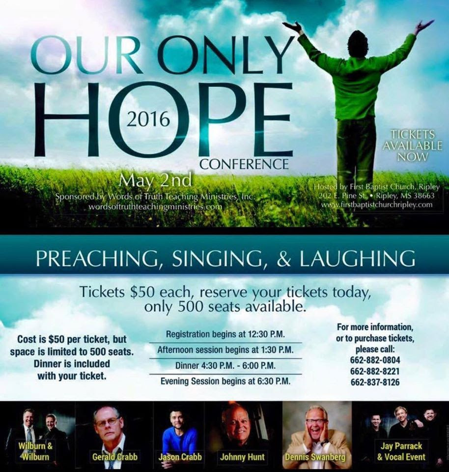 Our Only Hope 2016 Conference