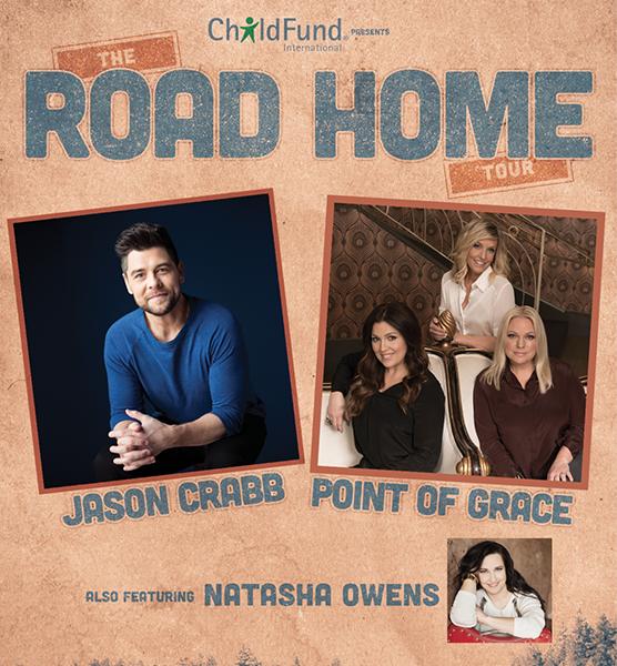 Jason Crabb, Point of Grace, Natasha Owens