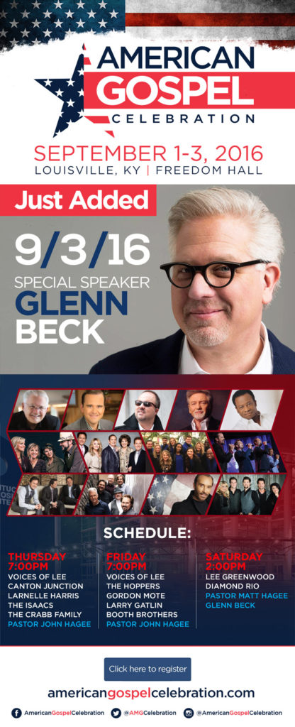 Glenn Beck at AGC