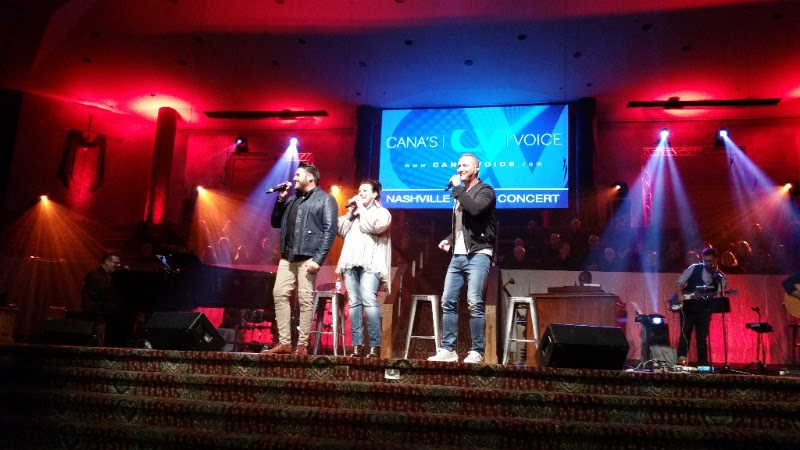 Cana's Voice Launches Fall/Winter Tour in Nashville, Tenn.