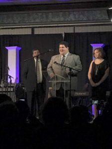 John Rulapaugh at Diamond Awards