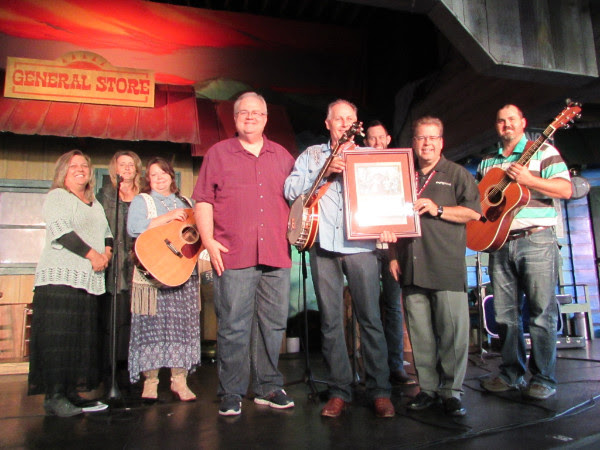 Heaven's Mountain Band Honored At Dollywood