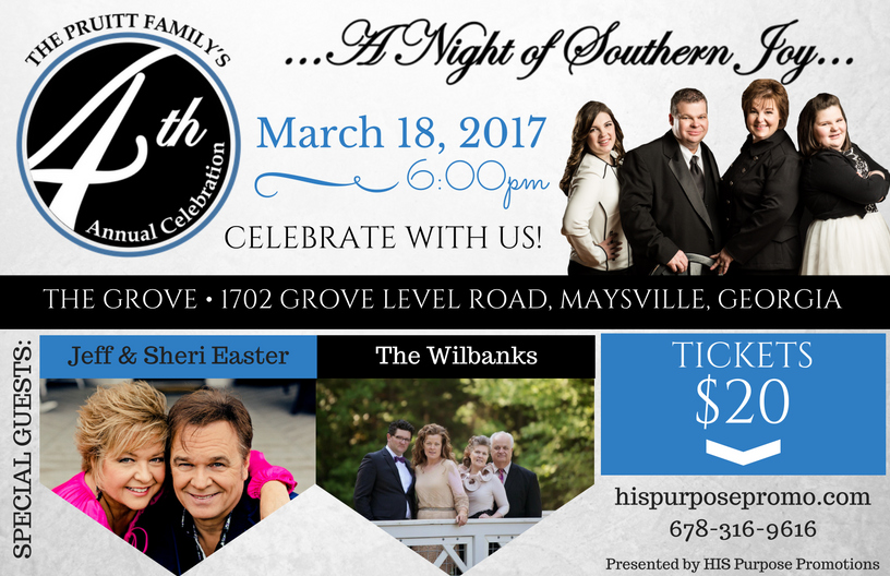 The Pruitt Family Presents 4th Annual A Night Of Southern Joy