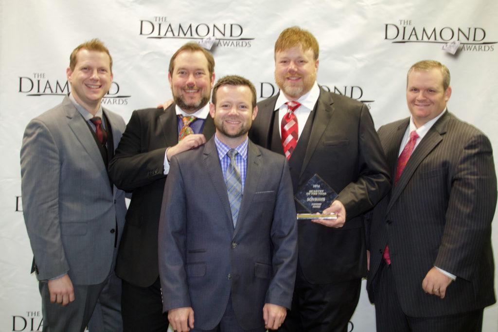 Gold City at 2016 Diamond Awards