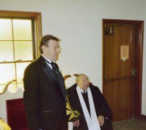 Rob Patz and his dad, Rev. Don Patz