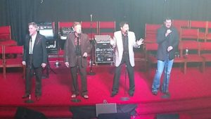 Carolina Quartet on stage.