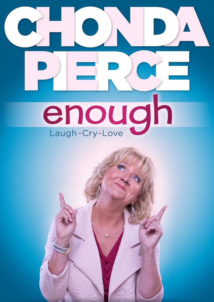 'CHONDA PIERCE: ENOUGH' DEBUTS ON DVD DECEMBER 1