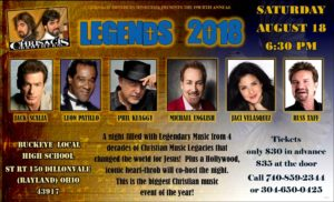 Chrisagis Brothers present Legends 2018