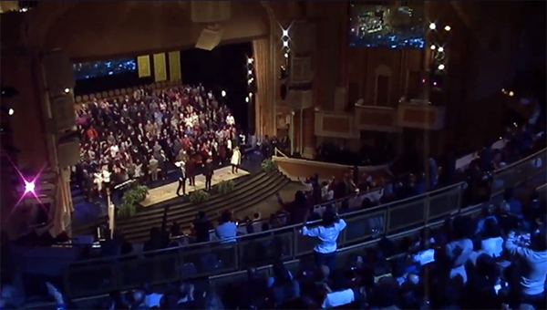 1 MILLION STRONG AND GROWING: VIDEO OF CANA'S VOICE AND BROOKLYN TABERNACLE GOES VIRAL!