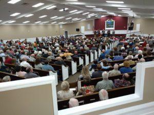 Full house at a Paul Belcher concert