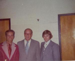 Claude Hopper. Lloyd Orrell. Paul Belcher Detroit Michigan 1974