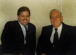 Paul Belcher with Partner W.B. Nowlin.1986 Battle of Songs. Ft Worth. TX. 1987