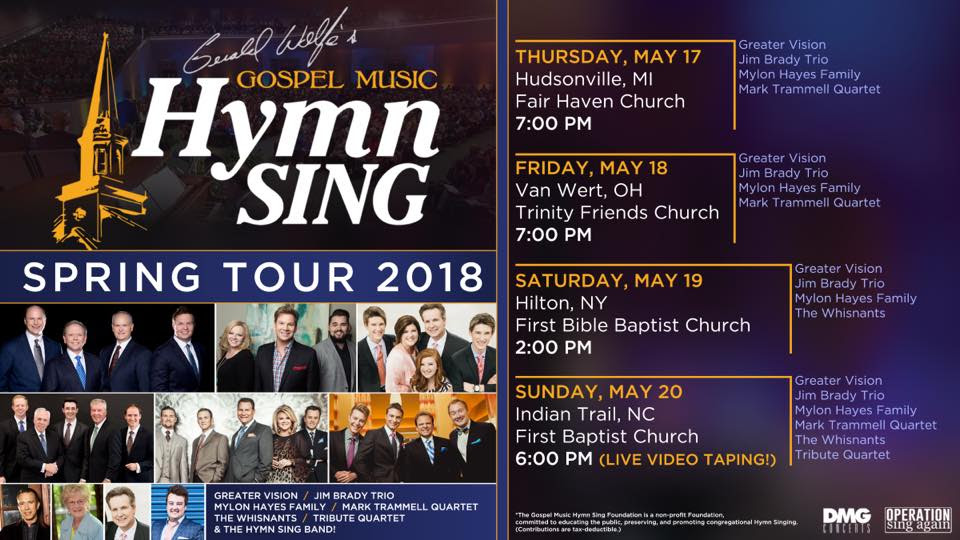 Gerald Wolfe's Gospel Music Hymn Sing Embarks On Spring Tour