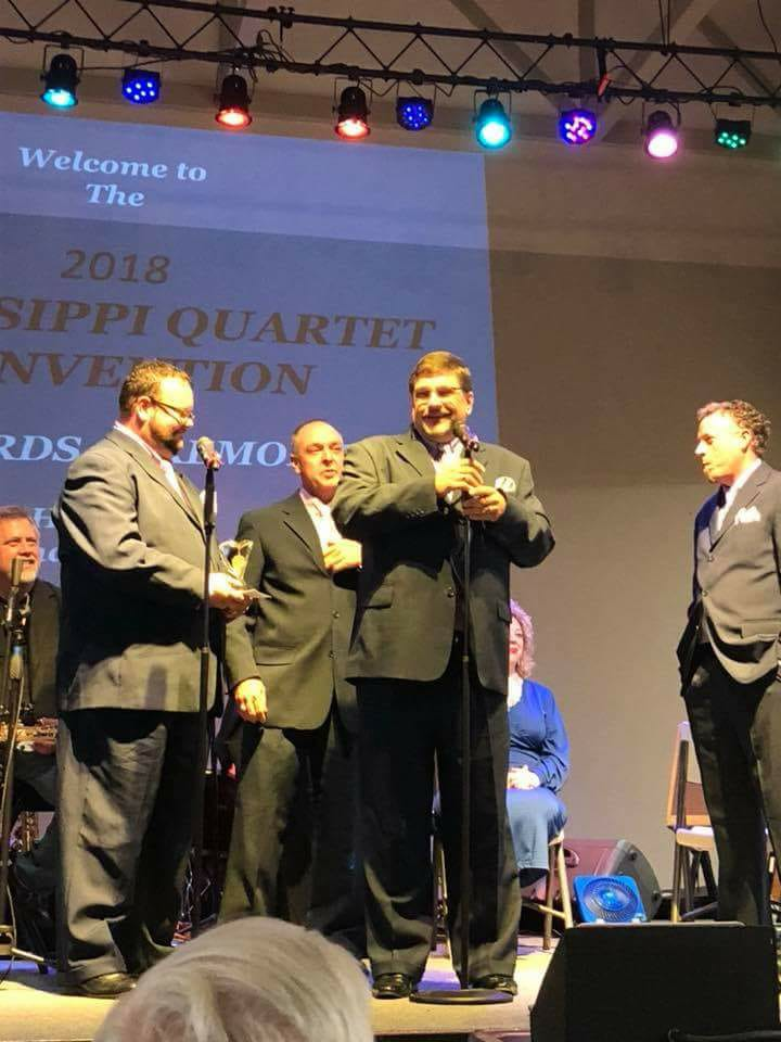 Zion's Way Quartet from Mississippi awarded MSQC 2018 Quartet of the Year