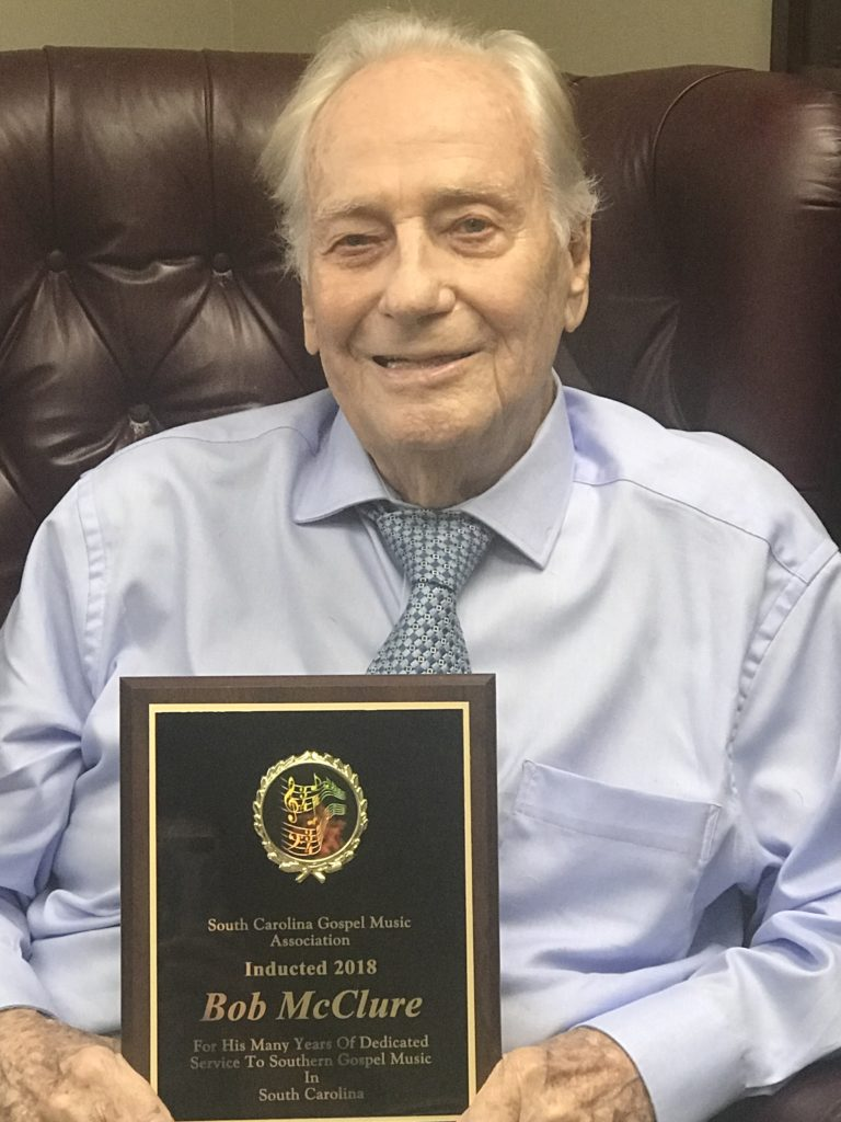 The South Carolina Gospel Music Association Inducts The LifeFM Founder Bob McClure