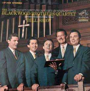 Bill Shaw with the Blackwood Brothers