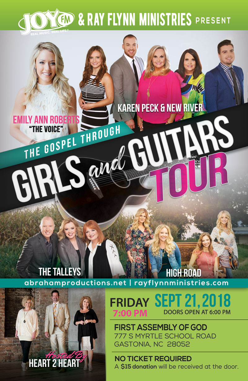 Heart 2 Heart And Abraham Productions Hosts The Gospel Through Girls & Guitars Event