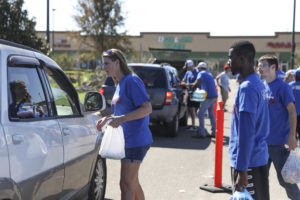 Convoy of Hope at work in Marianna, Fla. Photo from Convoy of Hope
