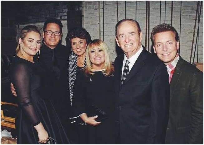 The Hoppers pose backstage priort to the North Carolina Music Hall of Fame Induction Ceremony