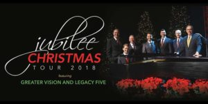 Jubilee Christmas 2018. Greater Vision and Legacy Five
