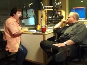 Les Butler Interviewing Marty Raybon