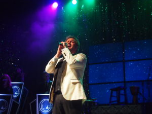 "David Phelps performs his signature song, ""Oh Holy Night."" Photo by John Herndon"