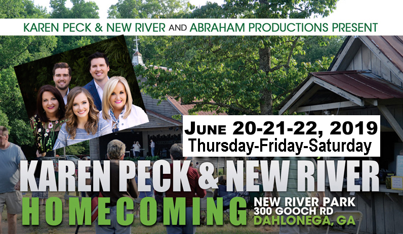 Karen Peck and New River/Abraham Productions Announce 2019 Homecoming