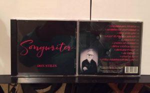 Don Stiles releases Songwriter CD