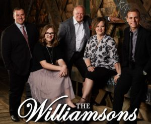 Butler Music Group 2019 Diamond Awards Top Five nominees. The Williamsons